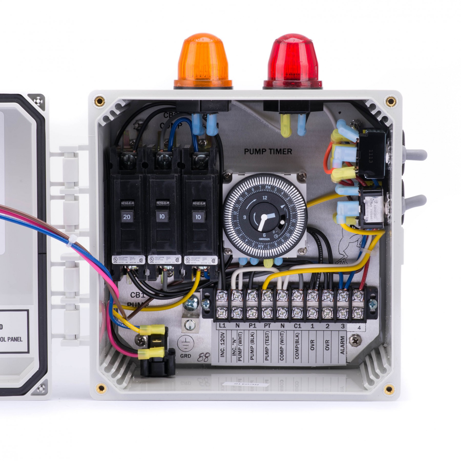 Spi Bio A Double Light Control Panel For Aerobic Septic