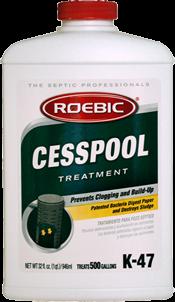 Roebic K 47 Cesspool Treatment 1qt Tg Wastewater