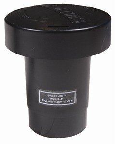 """Tuf-Tite Sweet Air Vent Stack - Fits 3"""" and 4"""" pipe"""