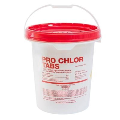 Pro Chlor Tabs - Septic Chlorine Tablets - 45lb