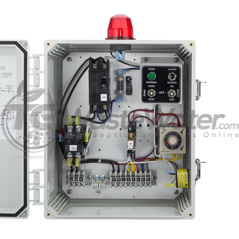 SPI Model SSTD2B Simplex Time Dosing Control Panel (230V) - 50A802 / SSTD2B