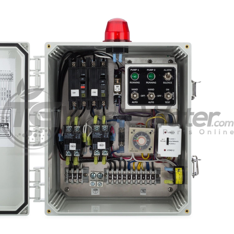 SPI Duplex Time Dosing Control Panel (120/230V) - 50A810 / SSTDD128