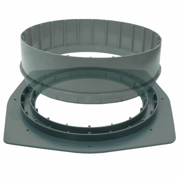 Polylok Square Riser Adapter Ring - 3009-AR