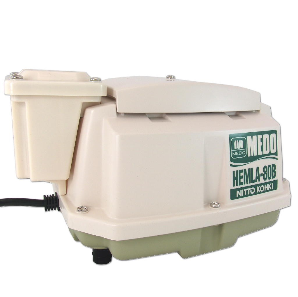 Medo HEM-LA80BN Piston Air Pump With Alarm