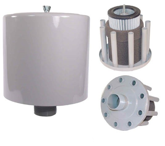 "FPZ 1.25"" Intake Filter for K03-MS Blowers"