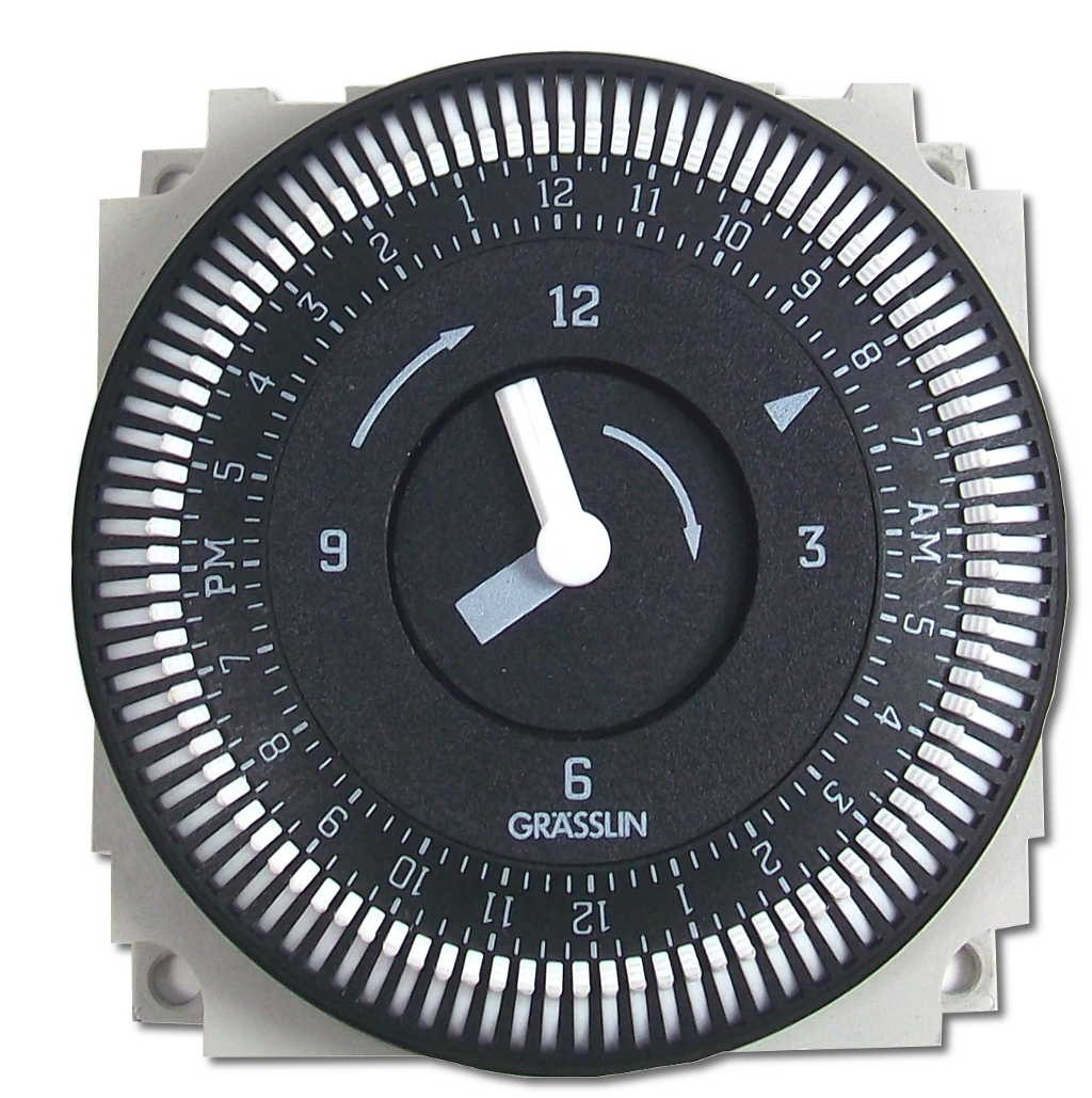 Grasslin Timer by Intermatic FM/1 STUZ-L 24-Hour Timer 01.76.0019.1 (120Volt)