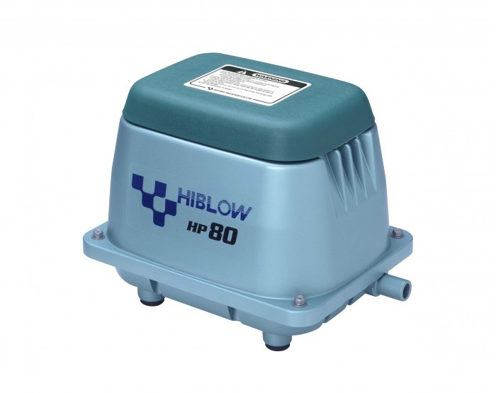 Hiblow HP 80 Pond or Septic Air Pump UL APPROVED HP80 HP 80