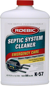 Roebic K-57 - Septic System Cleaner - Emergency Care - 1qt