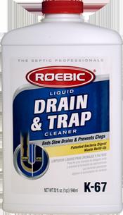 Roebic K-67 Drain & Trap Cleaner - 1qt