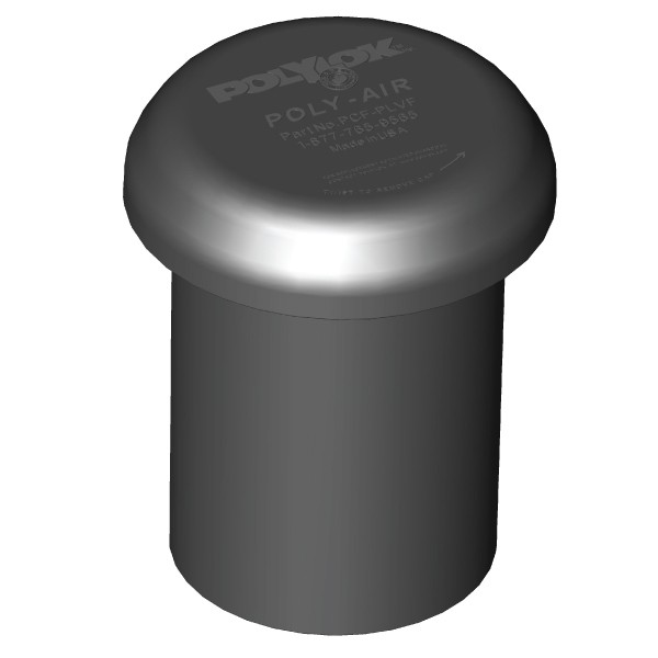 """Polylok Poly-Air™ Activated Carbon Vent - Fits 4"""" and 3"""""""
