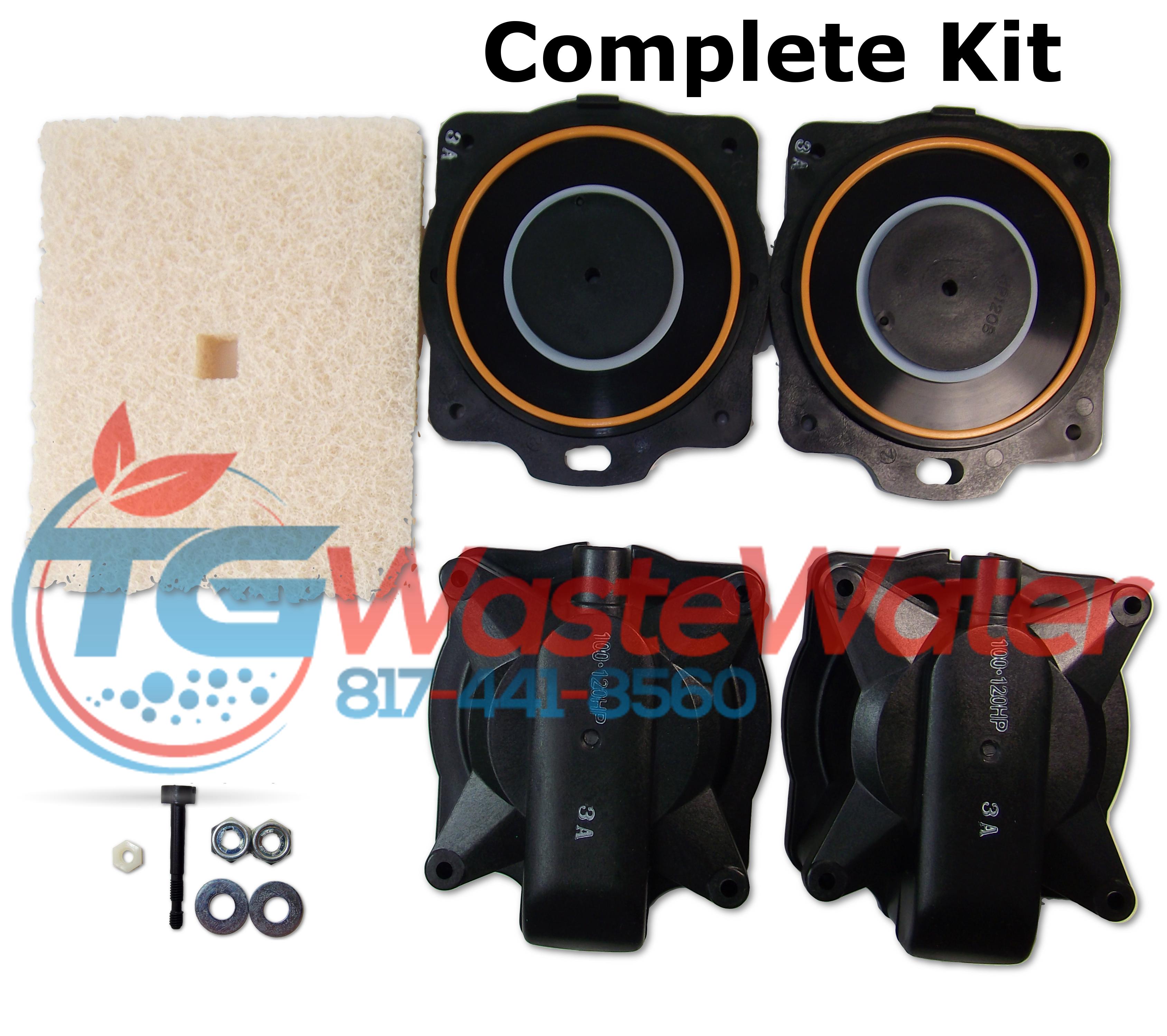 Hiblow HP 100 /& 120 Rebuild Kit Complete Kit