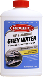 Roebic RV & Marine Grey Water Holding Tank Treatment - 1qt