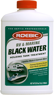 Roebic RV & Marine Black Water Holding Tank Treatment - 1qt