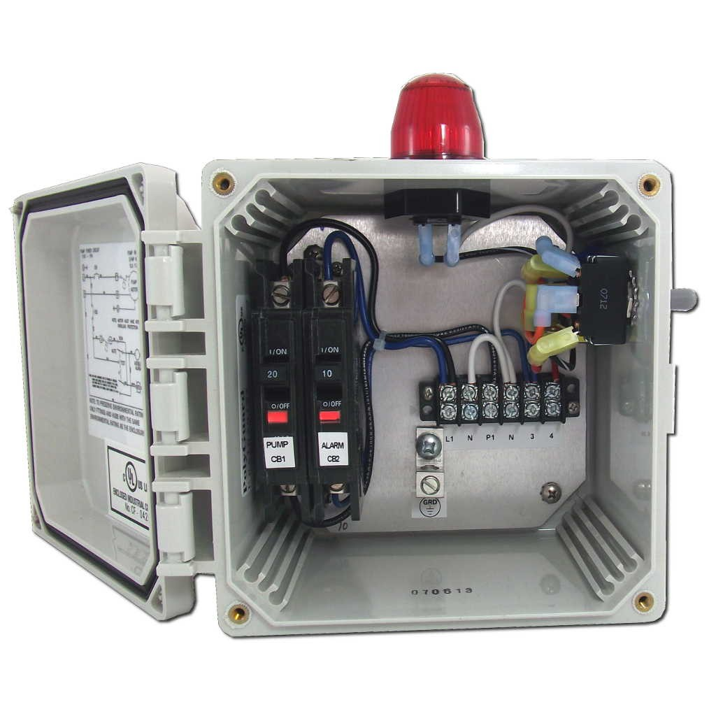 Terrific Spi Bio Pump Control Panel With High Water Alarm Model 50B010 Whap Wiring Cloud Geisbieswglorg