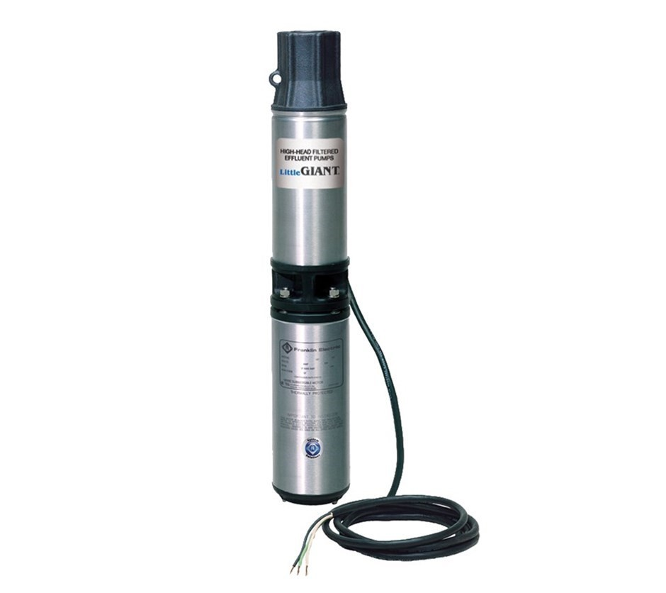 Franklin Electric Little Giant High Head Submersible Effluent Pump - WE20G05P4 - 558223