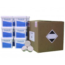 Septicfit® Calcium Hypochlorite Tablets 24.6 lb SuperCube 12 Pack
