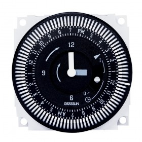 Grasslin Timer by Intermatic FM/1 STUZH-L 24-Hour Timer 01.76.0023.1 (120Volt)