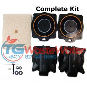 Hiblow HP 100-120 Rebuild Kit
