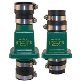 "Zoeller 30-0181 - 1-1/2"" or 1-1/4"" Slip-On Full Flow PVC Check Valve"